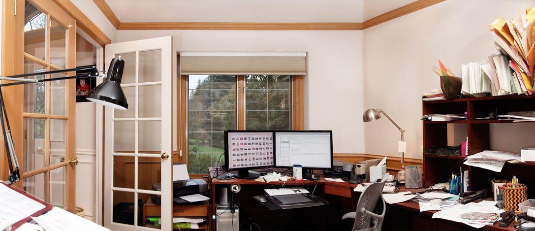 עיצוב חדרי עבודה עם מחשבים