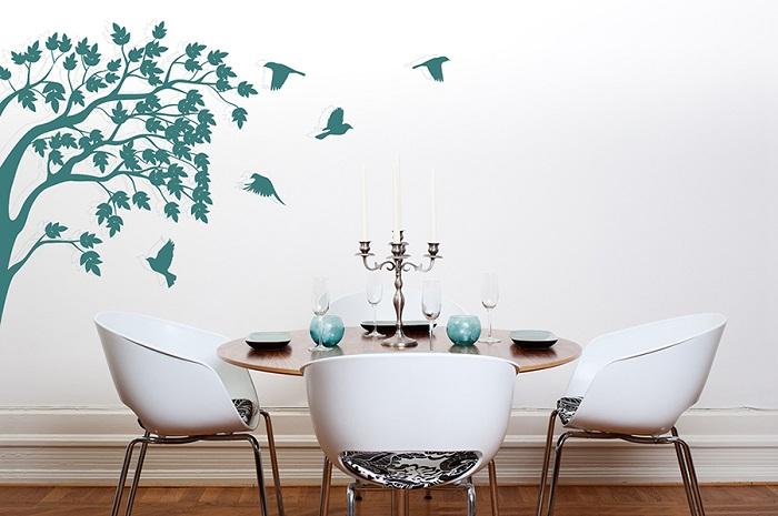 כך תעצבו את הבית בעזרת מדבקות קיר